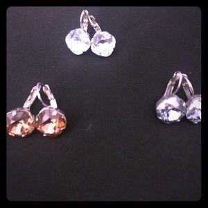 Sabika large golf earrings